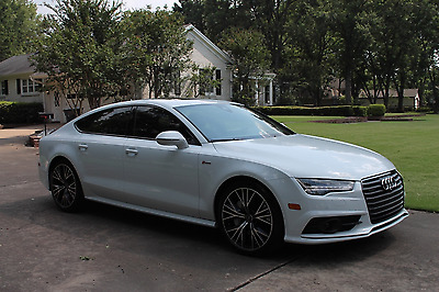 "2017 Audi A7 Prestige S-Line One Owner Driver Assist Pkg 20"" Black Optic Wheels Original MSRP New $78745"