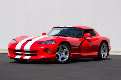 2001 Dodge Viper RT/10 Convertible 2001 Dodge Viper RT RT/10 Convertible in Viper Red  44,997 Miles California Car