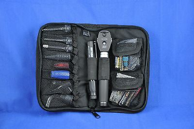 CFM Technologies Deluxe Field Diagnostic Kit w/ Heine Mini 3000 Ophthalmoscope