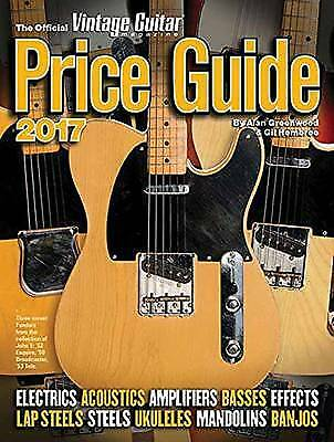 The Official Vintage Guitar Magazine Price Guide 2017, Alan Greenwood