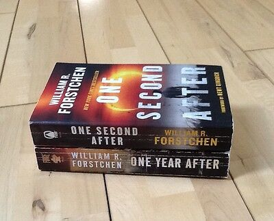 William R. Forstchen Lot of 2 ~ One Second After & One Year After