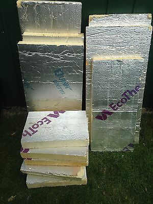 Thermal cladding off cuts EcoTherm - job lot!