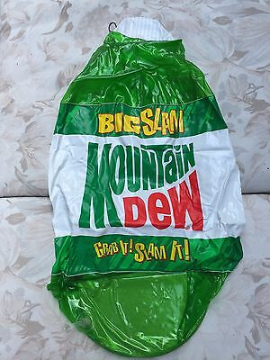 Mountain Dew BIG SLAM! Inflatable Bottle Store Display ~20inches
