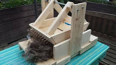 wool picker Wolfer Woolpicker Wollkamm Kardiermaschine Mini Pik