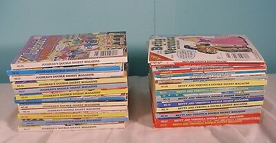 Lot Of 27 Jughead's & Betty And Veronica Double Digest Archie Comics