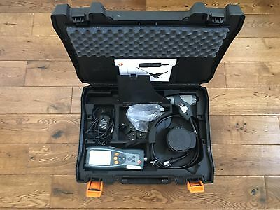 Testo 327-1 combustion Flue Gas Analyser Kit heating boiler No calibration