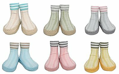 Baby Boy Girl Non-slip Cable-knit Slipper Winter Shoe Socks