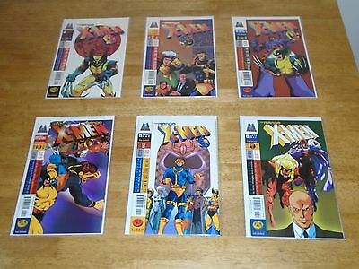 X-Men:  The Manga (1998-99) issues 1-26 complete run...see scans