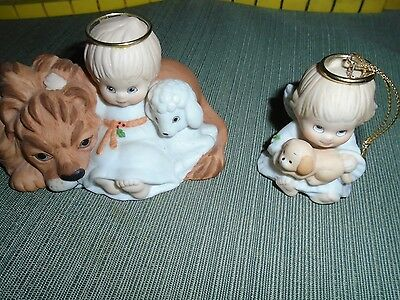 Two Enesco Figurines