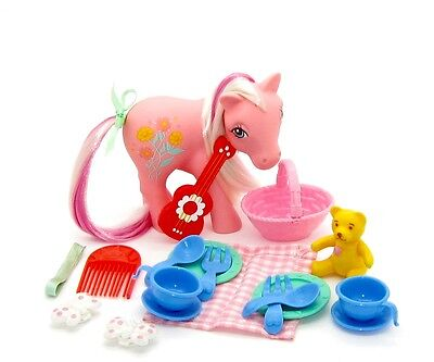 ⭐️ My Little Pony ⭐️ G1(MULTI-LISTING) UK Picnic Day Sweet Clover & Accessories!