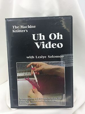 The Machine Knitters UH OH Video with Leslye Solomon. Entertaining & Informative
