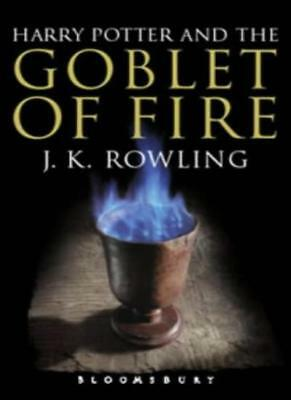Harry Potter and the Goblet of Fire (Book 4): Adult Edition,J. K. Rowling