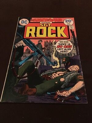 1974 Vintage D.C. Comics Our Army At War Sgt. Rock Vol 23 No 267 Board & Bagged