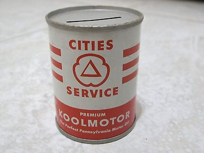 Cities Service Oil Can Bank