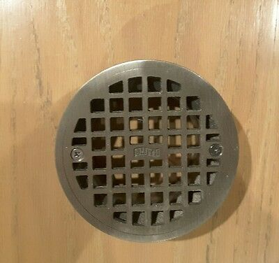 JR SMITH A05NB Floor Drain Strainer, Round, 5In Dia, shower drain top