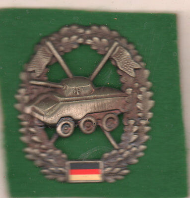 West German Tank ?? foreign insignia