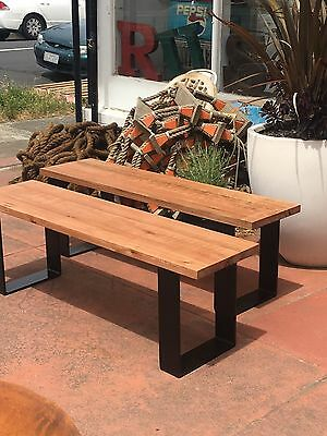 French Vintage Farmhouse Provincial Shabby Chic Industrial Bench Seats