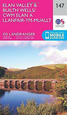 Landranger (147) Elan Valley & Builth Wells (OS Landranger Map) by Ordnance Surv