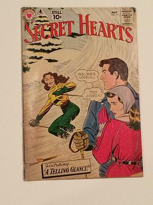 Secret Hearts #71 DC Comics Romance 1960's low grade