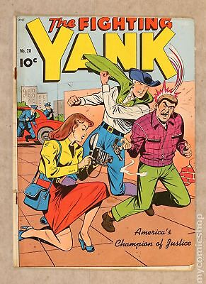 Fighting Yank (1942 Nedor/Better) #28 PR 0.5