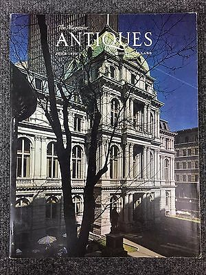 The Magazine Antiques June 1975 - Vintage American Folk Art Pottery Furniture