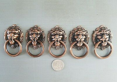 Lion head vintage style furniture pulls