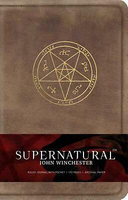 Supernatural: John Winchester Hardcover: John Winchester Hardcover Ruled Journal