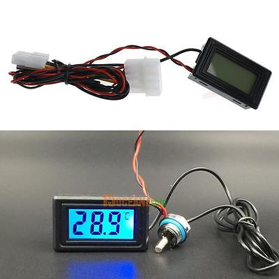 Backlight Pointer Digital Display Waterproof PC Water Cooling System Thermometer