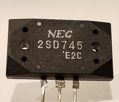 2SD745 Complementary Transistor Pc=120W Ic=10A Vceo=140V