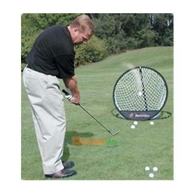 "NEW Portable 20.5"" Pop up Golf Chipping Pitching Practice Net Training Aid Tools"