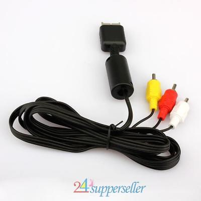 HDMI  AV Audio Video Cable Cord for Sony PlayStation PS2 PS3 Console System
