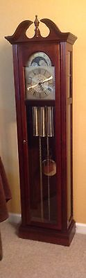 Ridgeway Cherry  Grandfather Clock Westminster Chimes