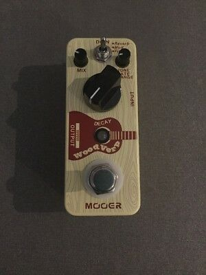 Mooer Wood Verb Pedal