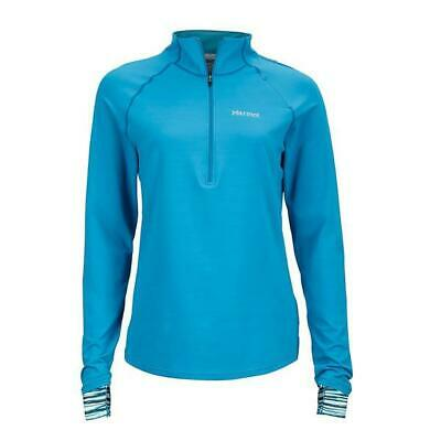 New - Marmot Women's Excel 1/2 Zip Long Sleeve Top