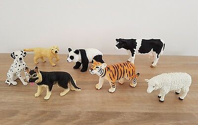 7 x Collectable Blip Toys Animal Figures