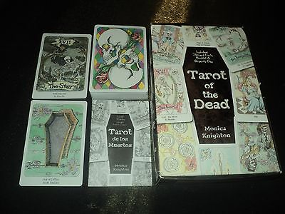 Tarot Day Of The Dead Deck Cards & Booklet Set -Unused Boxed & Complete - Skulls