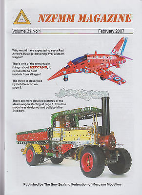 Meccano club magazine for 2007 six issues