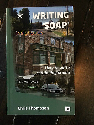 WRITING SOAP by Chris Thompson Paperback Book (English)  NEW