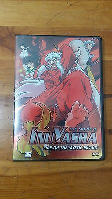 InuYasha The Movie 4 Fire on the Mystic Island DVD