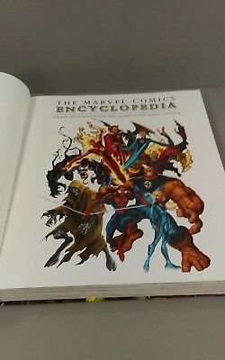 The Marvel Encyclopedia the definitive guide to the characters of the marvel uni