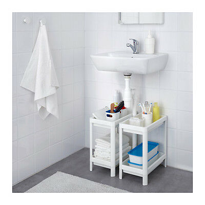 IKEA White Shelf Bathroom / Storage / Organiser / Shelving / Shower Brand New