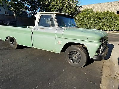 1964 Chevrolet C-10 -- 1964 Chevrolet pick up inline 6 cylinders
