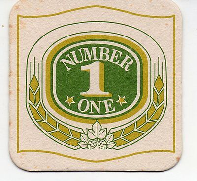 New Caledonia Number One Beer Coaster