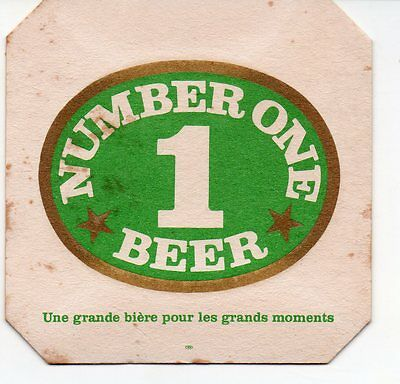 New Caledonia Number One Beer Coaster #2