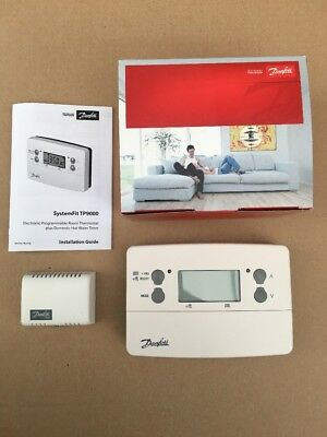 Danfoss TP9000 7 Day Central Heating Timer Programmer Thermostat 087N789229 New