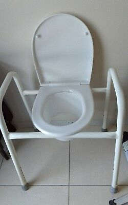 As New Over The Toilet Chair Frame - disability, post-surgery