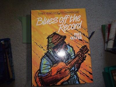Blues Of The Record -Paul Oliver Blues Book