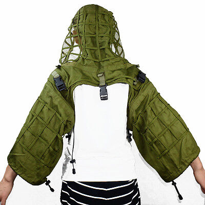 Ghillie Suit Foundation Tactical Sniper Yowie Hunting Paintball Camouflage Veil