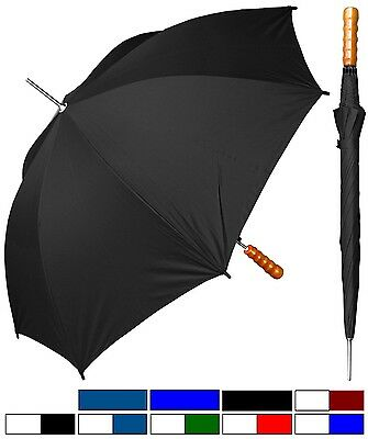 "48"" Arc, Auto-Open Rain Sport Umbrella - RainStoppers Rain/Sun UV Travel"