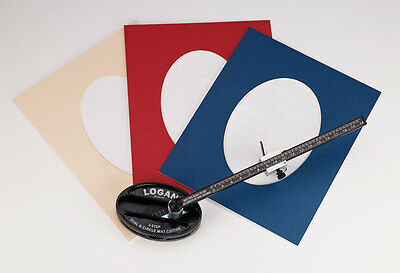 Logan 201 Oval & Circle Mat Cutter for Picture Framing Mounts